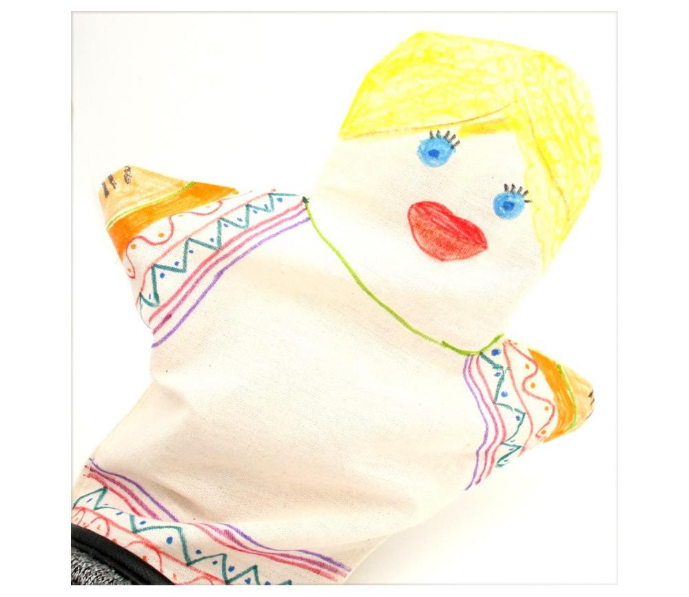 Marionnette à personnaliser 20 x 22.5 cm