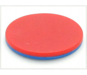 Pion rond double couleur rreversi recto-verso