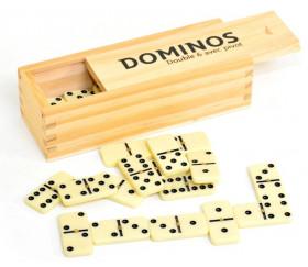 Jeu de dominos coffret - domino 4.7 x 2.2 cm