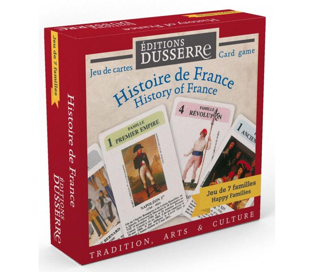 Jeu 7 familles Histoire de France