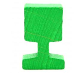 Panneau circulation carré vert