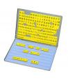 Boite 213 Mini lettres magnétiques 2 cm - minuscules et majuscules