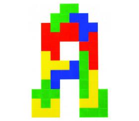 60 pentaminos en 5 couleurs