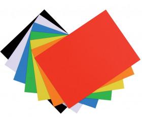 7 Feuilles aimantées A4 colorées
