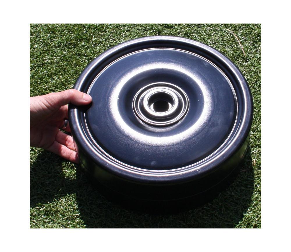 Pion géant diamètre 25 cm hauteur 9 cm - unité rechange dames XXL