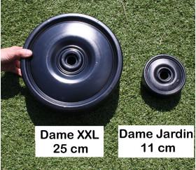 Pions de dames géants jardin 11 cm de diamètre