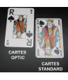 Jeu belote optic - 32 cartes à jouer très lisible