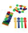 Jetons plastiques boite de 100 pour jeux tarot, nain jaune