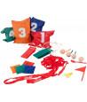 Jeu Party : 4 jeux pours tournois : course aux sacs, aux oeufs...