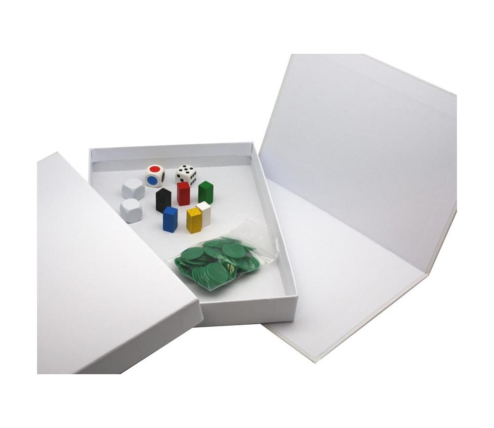 kit d marrage pour cr er son jeu mini boite cr ation jeux de soci t. Black Bedroom Furniture Sets. Home Design Ideas