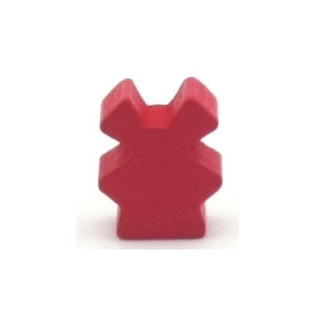 Pion de jeu petit moulin 16 x 10 x 8 mm en bois