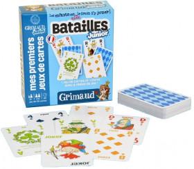 Bataille Junior Jeu 54 cartes GRIMAUD enfant