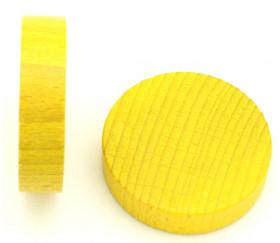 Palet bois de 5 cm jaune 52 x 13 mm à l'unité