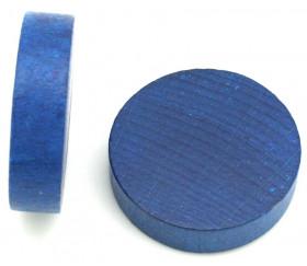 Palet bois de 5 cm bleu 52 x 13 mm à l'unité