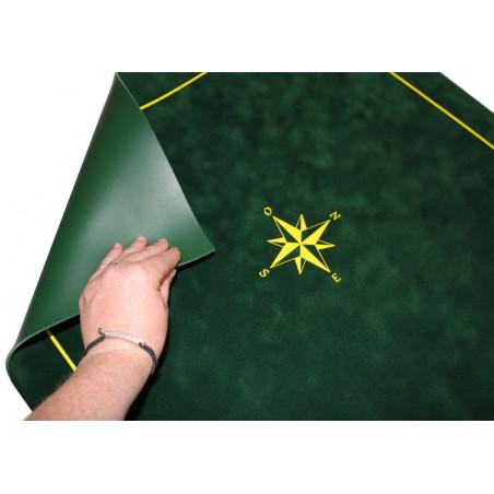 Tapis de cartes tarot bordeaux 60 x 60 cm