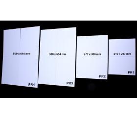 Plateau de jeux grand format pliable rectangle 640 x 500 mm