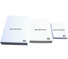 Boite jeu 221 x 161 x 30 mm PM blanche à personnaliser
