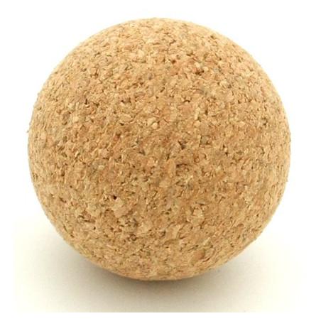 Balle liège marron 36 mm pour babyfoot