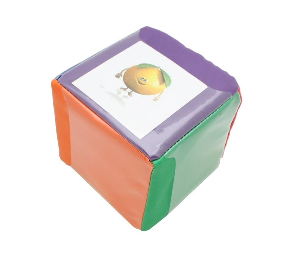 Dé 10 cm faces modifiables personnalisable à volonté multicolore