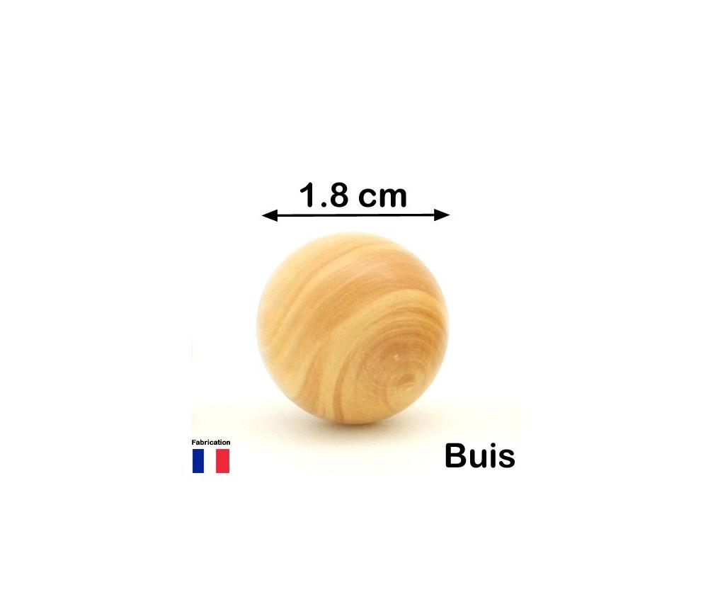 Boule en bois de 18 mm diamètre bille