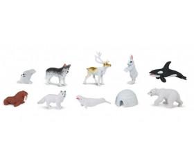 Monde Arctique : 10 figurines de jeu