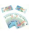 Set 100 billets de 20 euros factices pour jeux