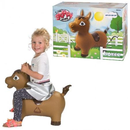 Cheval sauteur - jouet enfant 62 x 41 x 22 cm
