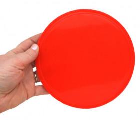 Palet 15 cm rouge 150 x 8 mm à l'unité plastique