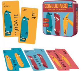 Conju Dingo CM1/CM2 - jeu des conjugaisons