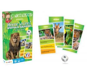 Cartatoto Animaux Sauvages récréaction - jeu