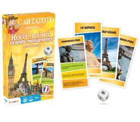 Cartatoto Grands monuments récréaction - jeu