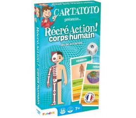 Cartatoto Le corps Humain récréaction