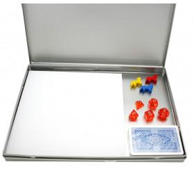 boite de jeux en carton pour ranger vos jeux personnalis s pi ces ou jeux de cartes carton ou. Black Bedroom Furniture Sets. Home Design Ideas