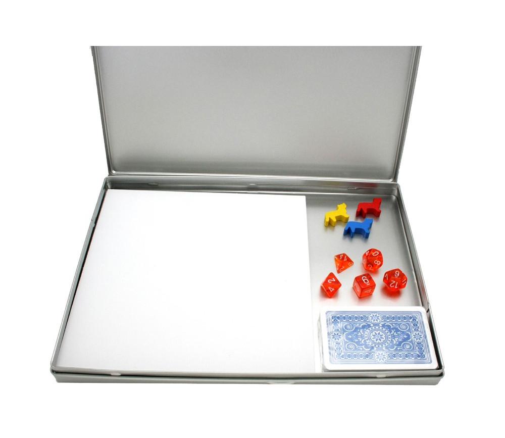 Boite en m tal vide a4 pour ranger jeux jouer et accessoires - Boite pour ranger les couverts ...