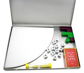 Boite métal A4 pour jeux et accessoires 312 x 225 x 25 mm