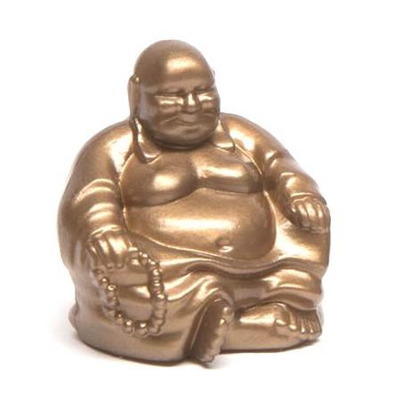 Pion bouddha doré 25 x 20 x 30 mm