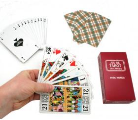 Jeu tarot standard 78 cartes à jouer pas cher