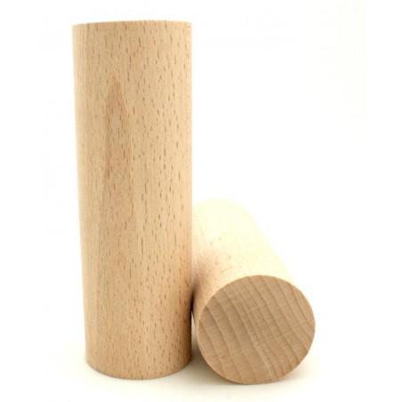 Totem 15 cm - Grand Cylindre bois 150 x 50 mm