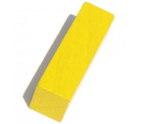 Bâtonnet buchette jaune 10x10x40 mm en bois pour jeu