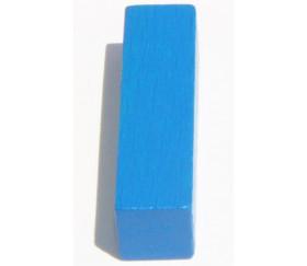 Bâtonnet buchette bleu 10x10x40 mm en bois pour jeu