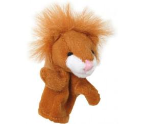 8 mini marionnettes animaux pour doigt lion