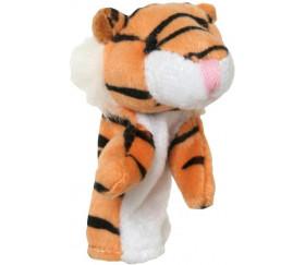 8 mini marionnettes animaux pour doigt tigre