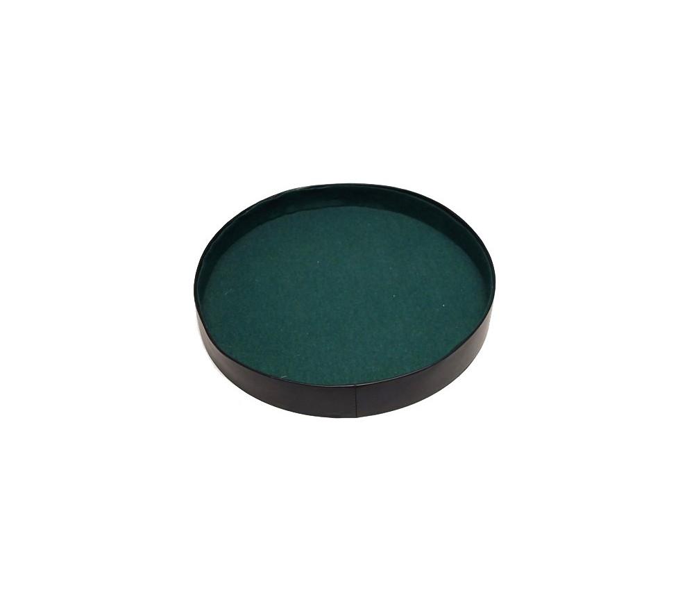 Piste de dés ronde 26 cm de diamètre