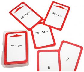 36 cartes Division :2 :3 :4 :5 :10