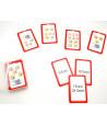 36 cartes euros cents - chapeau magique