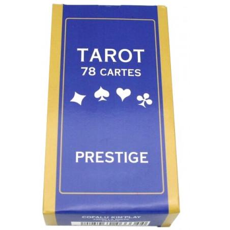 Jeu de tarot prestige 78 cartes à jouer plastifiées