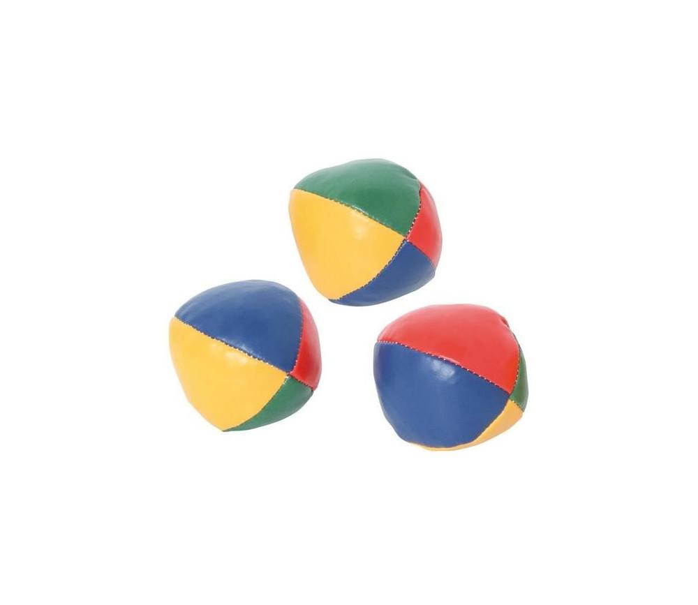 Balle de jonglage colorée lot de 3