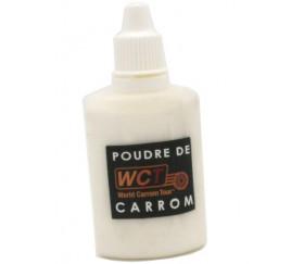 Flacon 30 g poudre de glisse pour carrom ou carambole