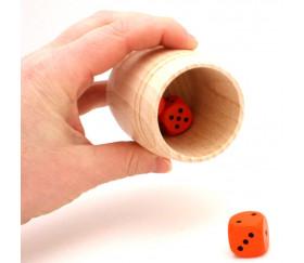 Mini Tonneau en bois de 6.8 cm de haut