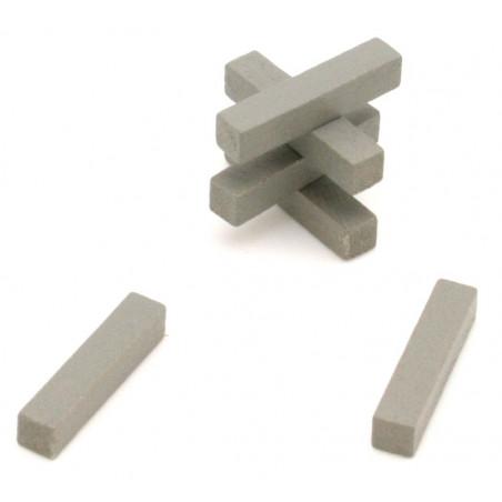 Baguette allumette 5x5x25 mm pion buchette route en bois pour jeu